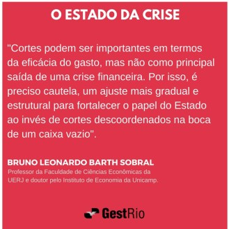 Estado da crise - Bruno Sobral