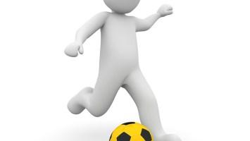 Lauftraining für Fußballspieler