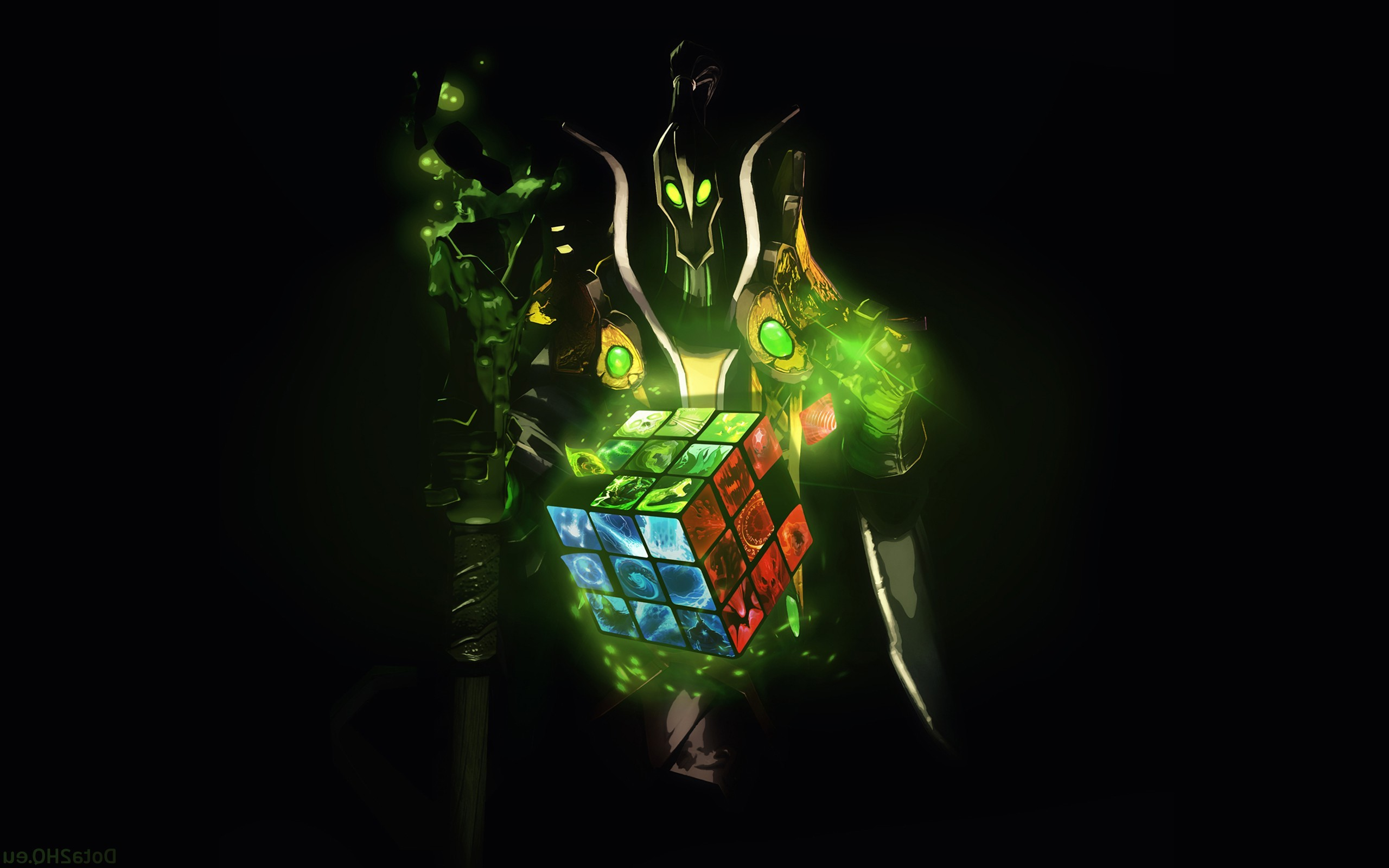 Wallpaper 2560x1600 Px Dota 2 Rubick The Grand Magus