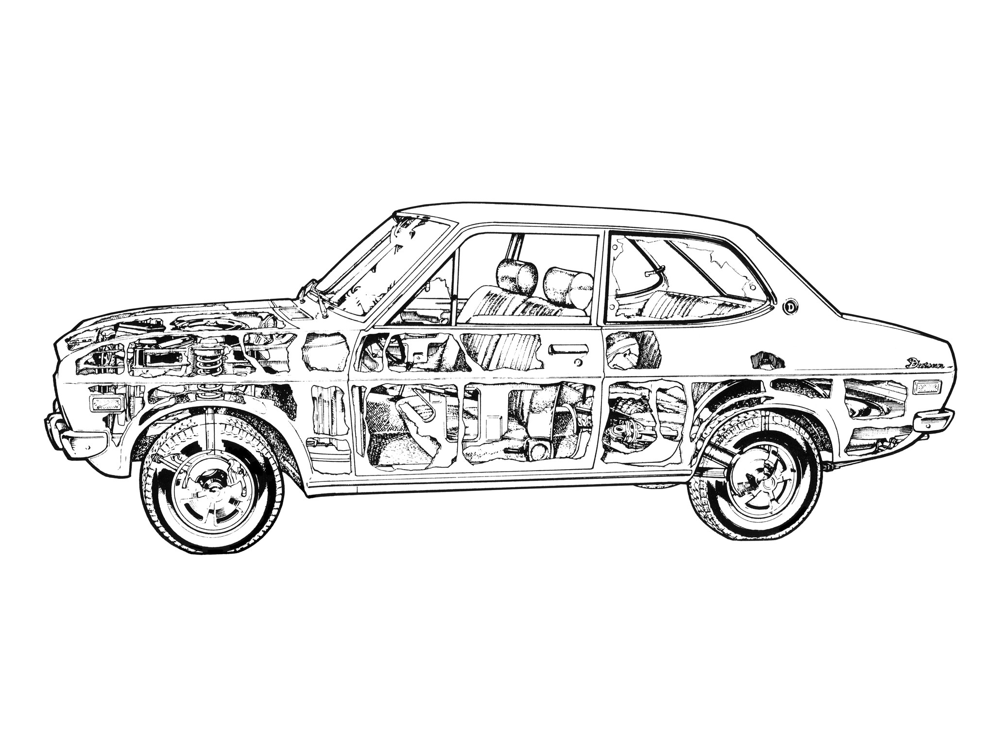 Fondos De Pantalla Dibujo Vehiculo Arte Lineal