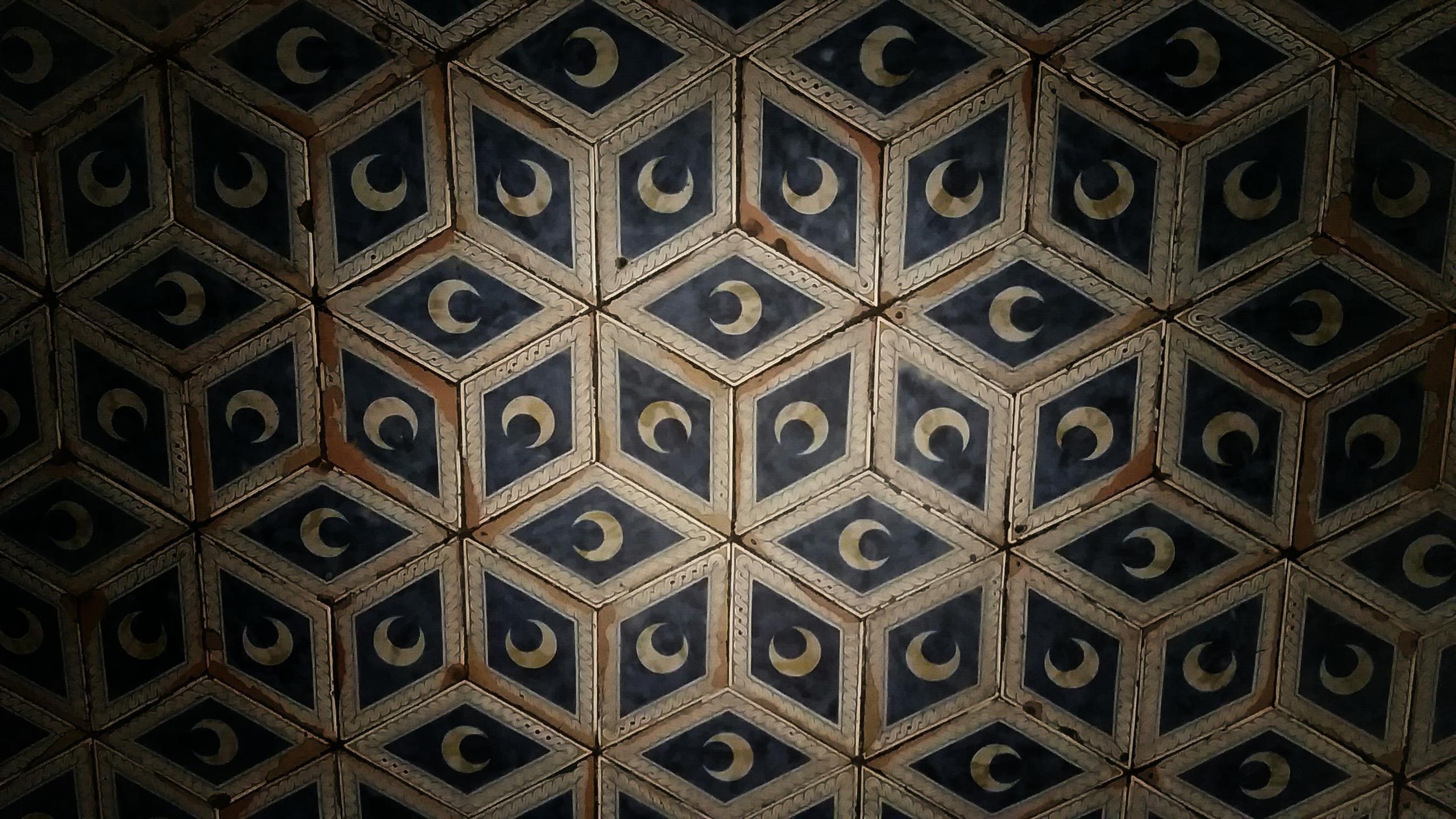 wallpaper symmetry moon pattern