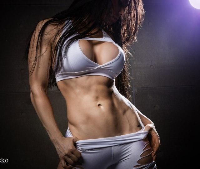 Women Pavel Garasko Belly Boobs Portrait Fitness Model Tattoo Hips