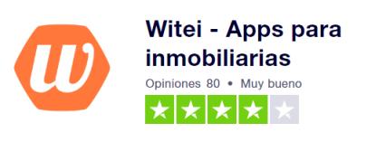 Valoración de trutpilot de Witei