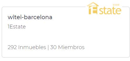 inmobiliaria de Barcelona con su círculo de colaboración