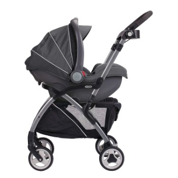 Graco Snugrider Elite Stroller and Car Seat Carrier Review 1