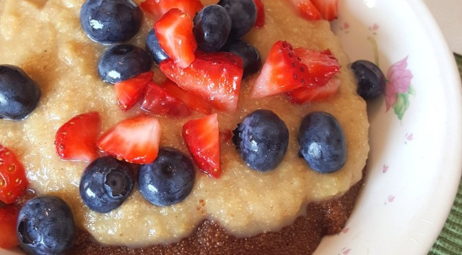Berry Cinn'Apple Teff Porridge