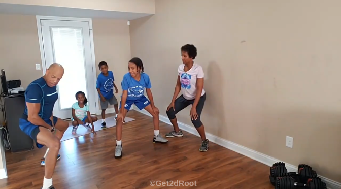 """HIIT LIVE Workout Vol. 22: """"All in the Family Workout"""""""