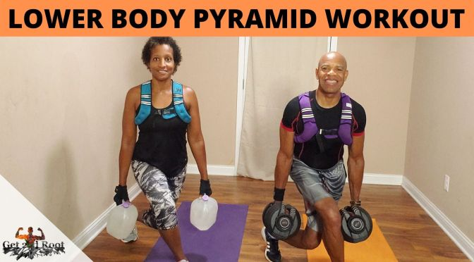 hiit lIVE vOL. 118:  Lower Body Pyramid Workout