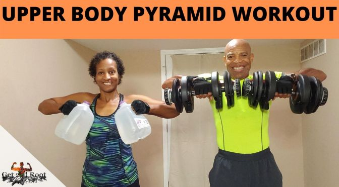 HIIT LIVE VOL. 117:  Upper Body Pyramid Workout