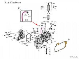 Crankcase : Get 2 It Parts, LLC, ATV, Scooter, Go Kart