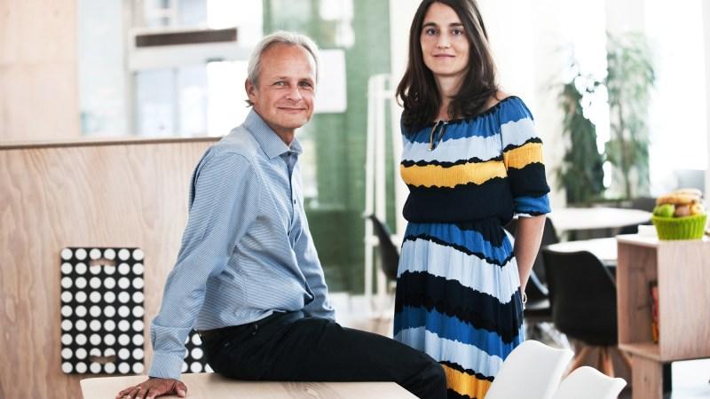 Michael Moeller und Franziska Fink (A. Chitsazan)