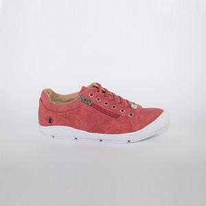 zapatillas coronel tapioca rojas