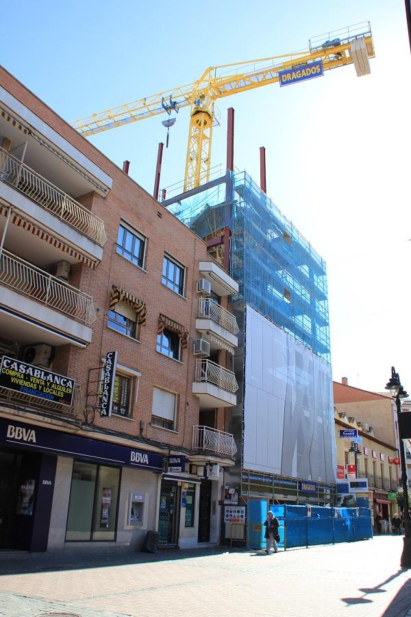 Las obras paralizadas del Teatro Madrid. Foto_Ruth Holgado.