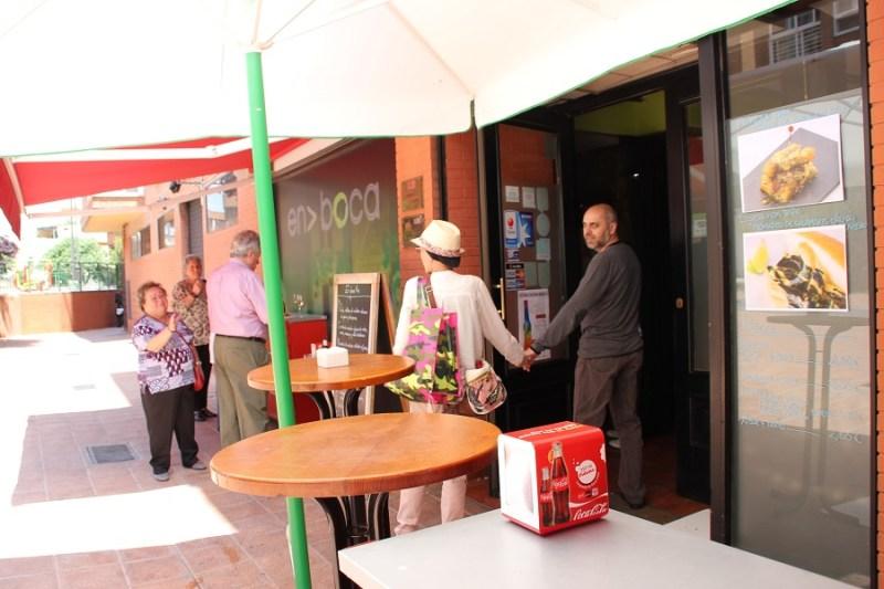 En Boca, uno de los establecimientos participantes en la Ruta de la Tapa.