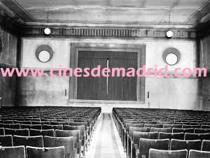 El interior del Cine Palacio en los años 40. Foto_ Cinesdemadrid.com