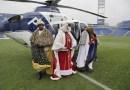 La lluvia no impidió que los pequeños getafenses disfrutaran de la Cabalgata de Reyes