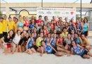 Getasur se proclama campeón de la Liga de Balonmano Playa de Madrid en cinco categorías