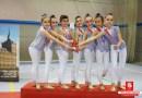 El Villa Getafe cierra la temporada de Gimnasia Estética de Grupo con un oro y una plata