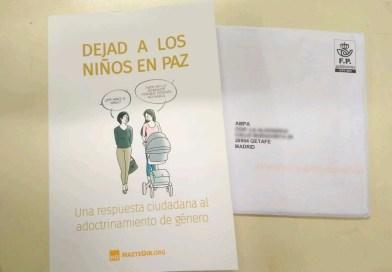 El PSOE denuncia una campaña de HazteOír en centros educativos públicos