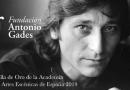 La Fundación Antonio Gades recibe la medalla de oro de la Academia de las Artes Escénicas