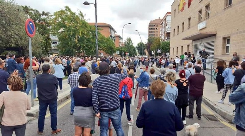 Getafe se rebela contra los confinamientos selectivos: «No es confinamiento es segregación»