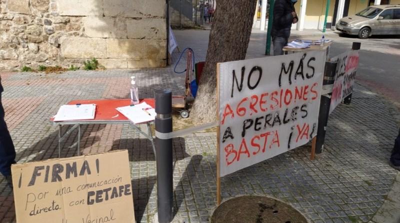 Los vecinos de Perales del Río llevan cerca de 2 meses incomunicados con Getafe