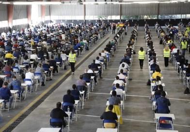 1.132 aspirantes se examinan hoy para optar a 10 nuevas plazas de Policía Local