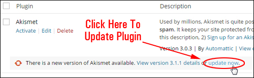 Upgrading And Deleting Plugins