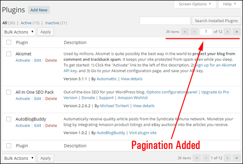 Upgrading And Deleting Plugins From Your Dashboard
