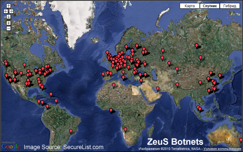 The Zeus botnet has been actively infecting computer networks all around the world since 2009.