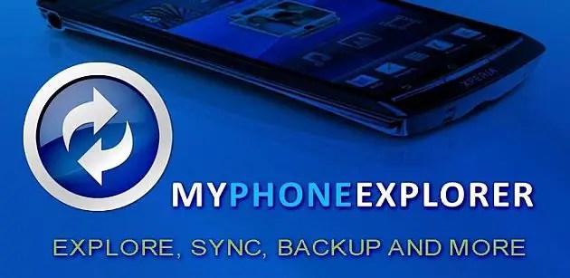MyPhoneExplorer Android Sync App