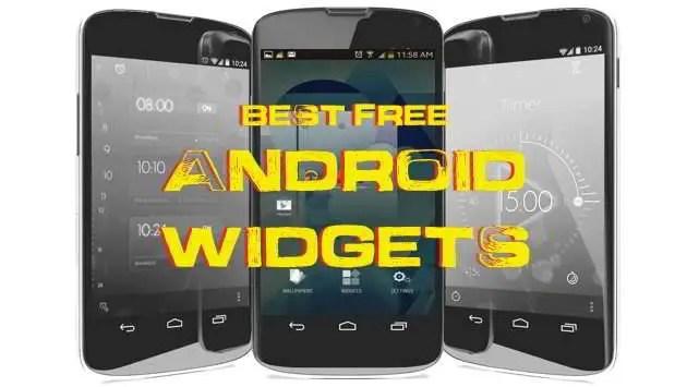 Best Free Android Widgets app