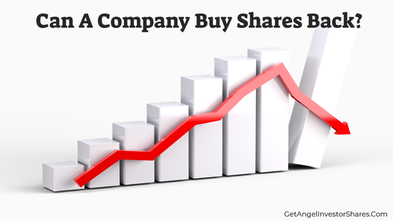 Can A Company Buy Shares Back?