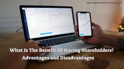 What Is The Benefit Of Having Shareholders?