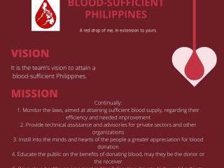 Blood Donation Student Council Poster
