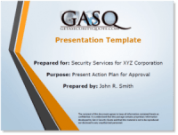 GASQ Proposal Presentation Template