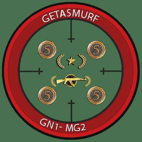 Prime Gold Nova 1 Master Guardian Elite Ranked Account