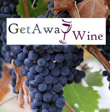 GetAway Wine grapes logo