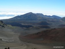 View across Haleakala Crater