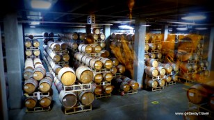 Barrels at Columbia Crest