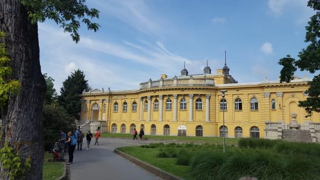 Széchenyi thermal bath Budapest