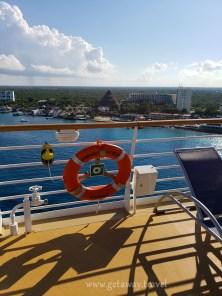 Docked in Cozumel