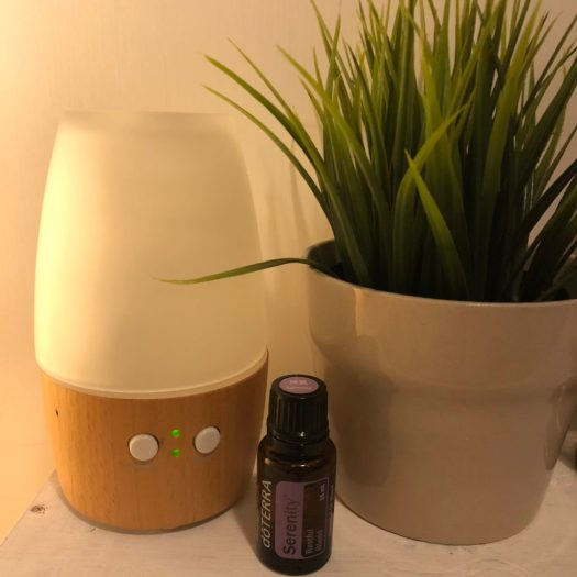 Oil diffuser and Serenity blend