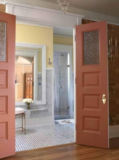 Nice modern wooden doors #interiordoordesign #woodendoordesign
