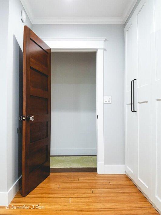 Nice soundproof interior door #interiordoordesign #woodendoordesign