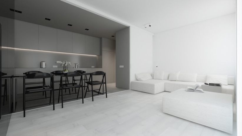 Colorful minimalist lounge room #minimalistinteriordesign #modernminimalisthouse #moderninteriordesign