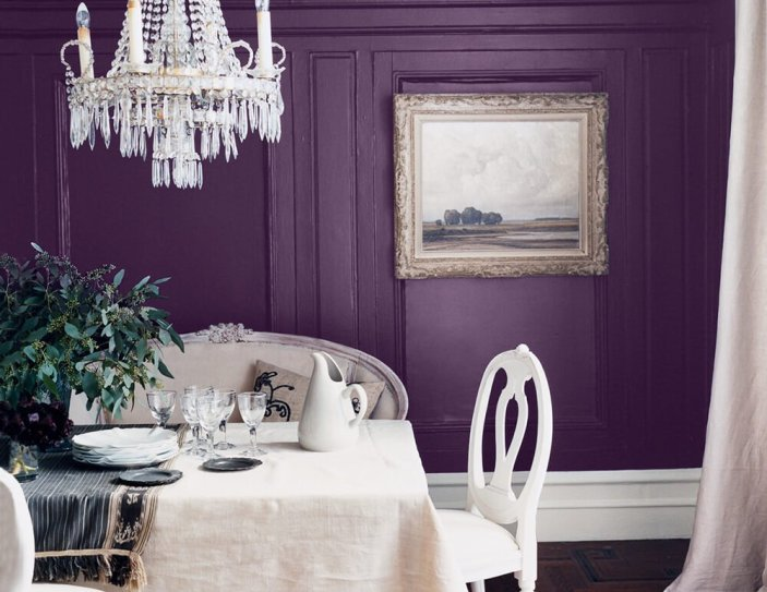 Best blue and grey dining room #diningroompaintcolors #diningroompaintideas