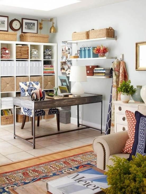 Awesome home office desk modern design #homeofficedesign #homeofficeideas #officedesignideas