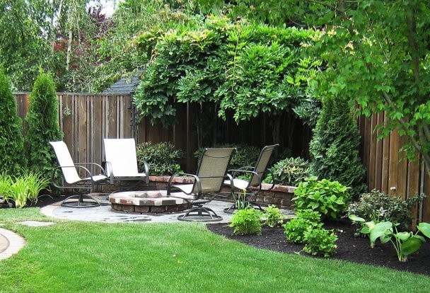 Trending backyard landscape design examples #backyardlandscapedesign #backyardlandscapingidea #backyardlandscapedesignideas
