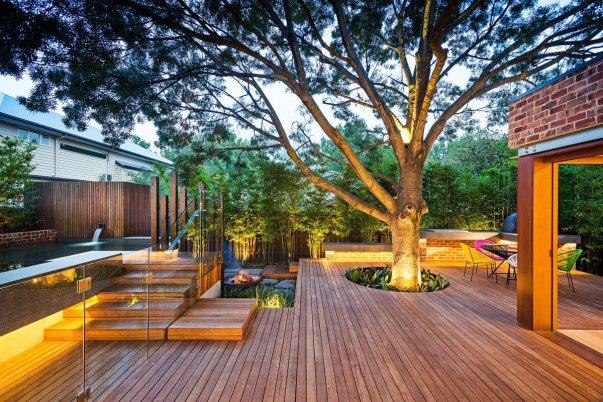 Beautiful backyard landscape design in arizona #backyardlandscapedesign #backyardlandscapingidea #backyardlandscapedesignideas